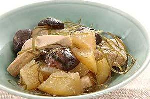 冬瓜と凍み豆腐の煮物