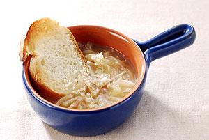 えのきだけ入りオニオンスープ