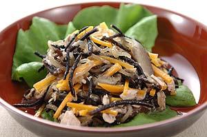 ヒジキとツナ缶の和風ドレッシングサラダ