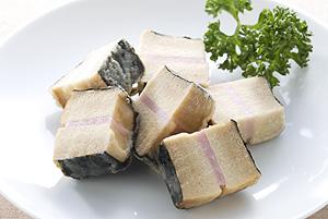 凍り豆腐のハムはさみ揚げ