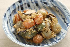 玉こんにゃくと干ししいたけの味噌煮