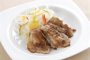 豚肉の甘味噌焼き